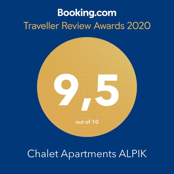 Chalet Alpik 9.5 Traveller Award